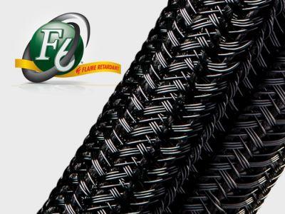 Gaine Tressée Fendue F6® Flame Retardant